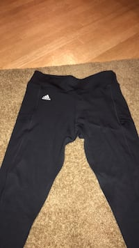 black and gray Adidas track pants Las Vegas, 89110