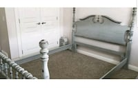 Queen antique bed frame CALGARY