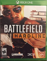 Battlefield Hardline Xbox One game case Whitby, L1R