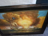 Battle at Sea Painting Brentwood, 37027
