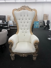 Queen Throne Chair 6 ft Tall ($999 cash) Or Finance only $42 Down and take at Home, any color !! Houston, 77092