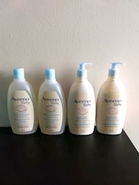 Aveeno Baby body wash and lotion