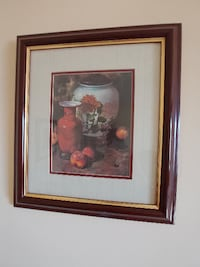 Pair of framed still life pictures HIGHPOINT