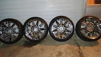 "22"" rims an tires Topeka, 66607"