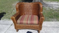 Large wicker captains chair  Largo, 33774