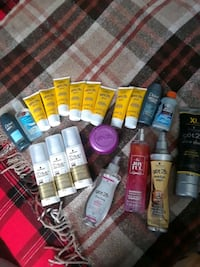 Hair and Body Product Lot 20 items 554 km