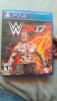 Sony PS4 WWE 2K18 case Lexington, 40502