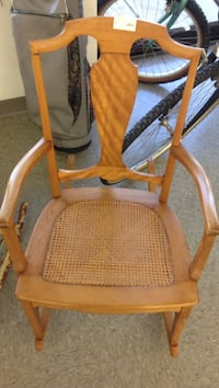 Vintage Small Wicker Rocking Chair Wilmington, 19803