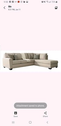 L Shaped couch for sale  Miami, 33187