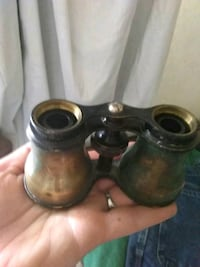 black and gray binoculars 1625 mi