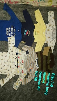 boy's assorted clothes Newman, 95360