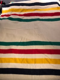 Hudson's Bay 4 point wool blanket