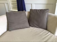 "Cushions from Bowring. Taupe 18.5"" . Price is for both."