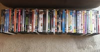 assorted DVD movie case lot Cypress, 77433