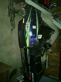 black, purple, and green snowmobile Portage, 46368