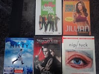 10 things I Hate about you  / Jillian Micheals - Troubled Zones / Mitty / Sweeney Todd / Nip/Tuck - Season 1 Chicago
