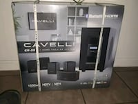 black and gray home theater system box Sacramento, 95823