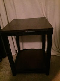 rectangular black wooden side table Tallahassee, 32304