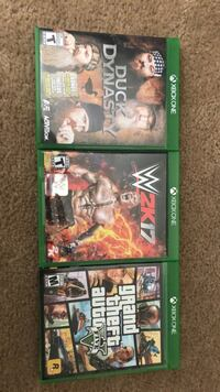 Xbox one games  Knoxville, 37909