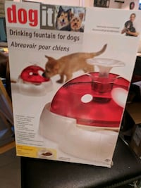 Dog It drinking fountain fog dogs box Mississauga, L5C 1G8