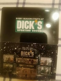$50 and $25 gift card for dicks West Seneca