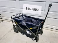 Folding wagon. Perfect for hauling anything  Moreno Valley, 92557