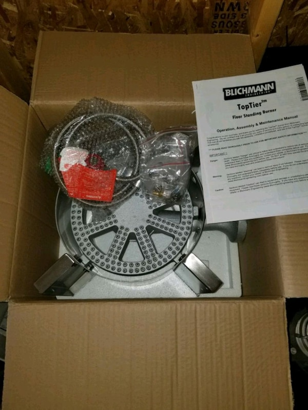 Blichmann Top Tier Burner For Brewing Homebrewing
