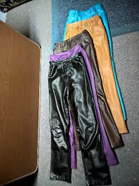 Genuine Leather Misses Pants, LIKE NEW!