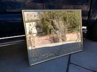 """Mint Large 42"""" by 32"""" Hanging Wall mirror Las Vegas, 89146"""