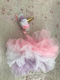 Baby girl unicorn tutu and headband