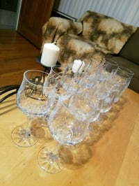 Crystal Wine  Glasses Glendale, 91206