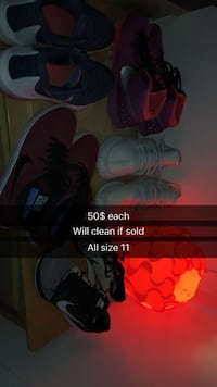 assorted pairs of footwear Surrey, V3S 8R1