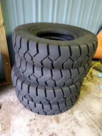 two black car wheel with tires Elkhart, 46514