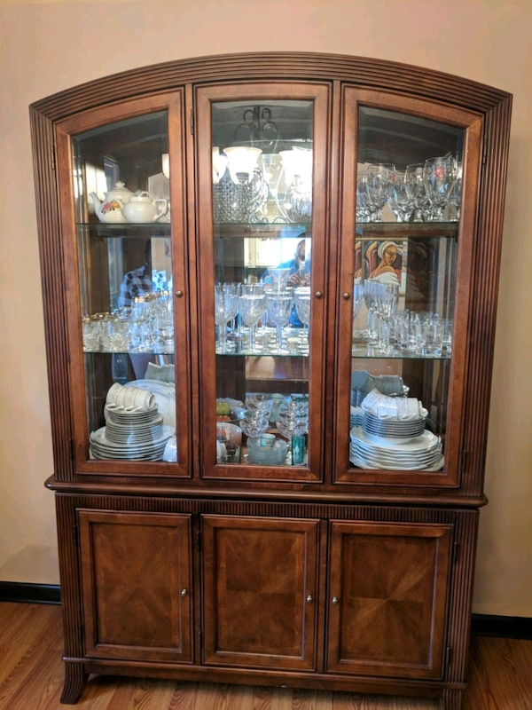 Used 6 Piece Dining Set And China Cabinet For Sale In Powder Springs