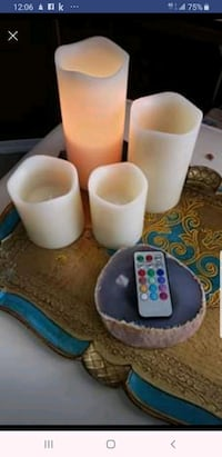 Candles remote controlled set Calgary, T3K 6E8