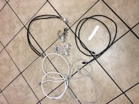 Cable/ Internet/ Phone cables, wires, cords & splitters, hook-ups ect