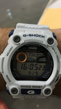 White GShock Watch Mississauga, L4Z 3W1