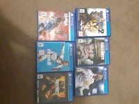 6 ps4 vidoe games for sale. You could just buy 1 Surrey, V3R