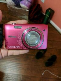 pink Nikon Coolpix point-and-shoot camera Commerce, 90022