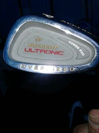 gray and red Dunlop Ultronic golf club Selkirk, R1A