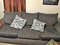 Brand new couch in blue/gray Nashville