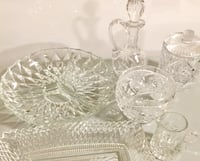 Crystal dishes  Surrey