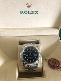 Rolex blue face date -just  Mississauga, L5A 1G9