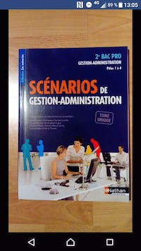 Manuel 2nd bac pro gestion administration Tergnier, 02700
