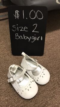 Baby girl shoes size 2 Catlett, 20119