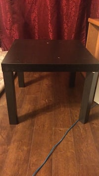 rectangular black wooden side table Calgary, T3J 1B4
