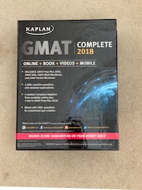 GMAT COMPLETE 2018.
