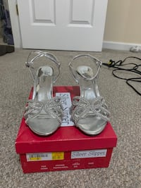 Silver Slipper Heels Knoxville