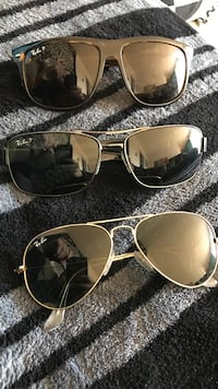 d046f831cc6 three Ray-Ban sunglasses 100  delivered or 80  picked up. Firm price