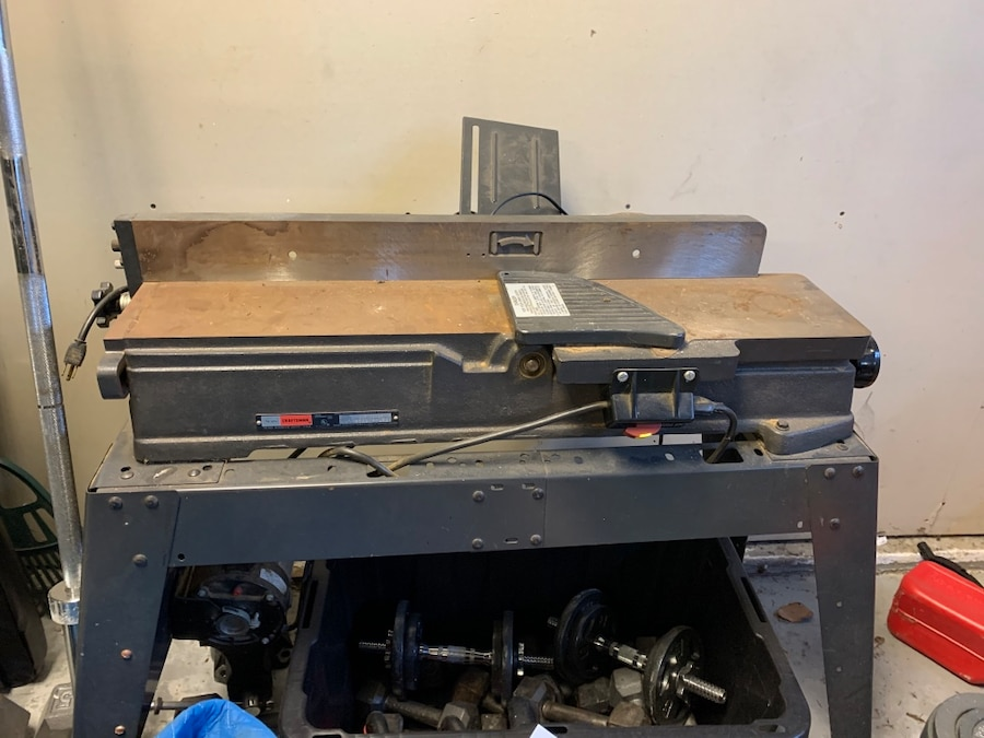 Photo Planer jointer. Craftsman 6